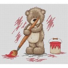 Набор для вышивания Luca-S B1006 Медвежонок Бруно