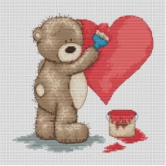 Набор для вышивания Luca-S B1007 Медвежонок Бруно