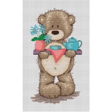 Набор для вышивания Luca-S B1008 Медвежонок Бруно