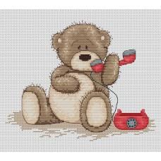 Набор для вышивания Luca-S B1009 Медвежонок Бруно