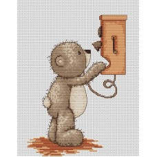 Набор для вышивания Luca-S B1010 Медвежонок Бруно