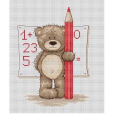 Набор для вышивания Luca-S B1017 Медвежонок Бруно