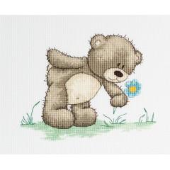 Набор для вышивания Luca-S B1018 Медвежонок Бруно