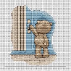 Набор для вышивания Luca-S B1027 Медвежонок Бруно
