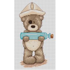 Набор для вышивания Luca-S B1030 Медвежонок Бруно