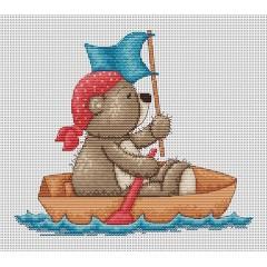 Набор для вышивания Luca-S B1039 Медвежонок Бруно