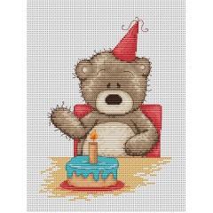Набор для вышивания Luca-S B1040 Медвежонок Бруно