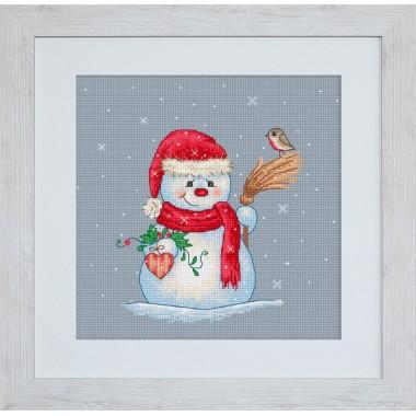 Набор для вышивания Luca-S B1049 Снеговичёк