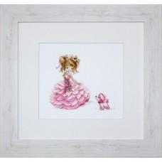 Набор для вышивания Luca-S B1056 Принцесса