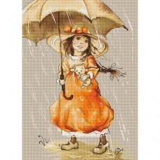 Набор для вышивания Luca-S B1065 Зонтик