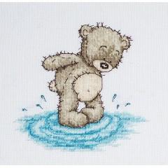 Набор для вышивания Luca-S B1080 Медвежонок Бруно