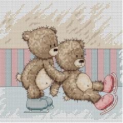 Набор для вышивания Luca-S B1083 Медвежонок Бруно