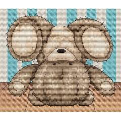 Набор для вышивания Luca-S B1084 Медвежонок Бруно