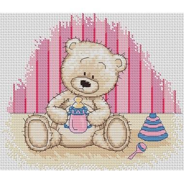 Набор для вышивания Luca-S B1085 Медвежонок Бруно