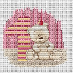 Набор для вышивания Luca-S B1088 Медвежонок Бруно