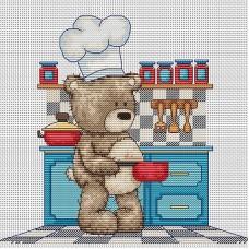Набор для вышивания Luca-S B1089 Медвежонок Бруно