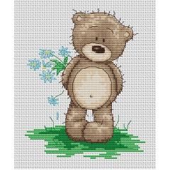 Набор для вышивания Luca-S B1090 Медвежонок Бруно