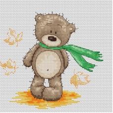 Набор для вышивания Luca-S B1092 Медвежонок Бруно