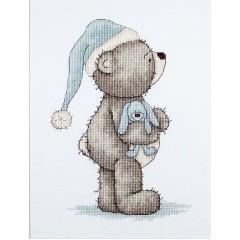 Набор для вышивания Luca-S B1093 Медвежонок Бруно