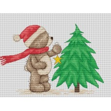 Набор для вышивания Luca-S B1094 Медвежонок Бруно