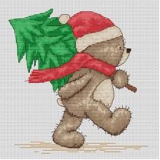 Набор для вышивания Luca-S B1095 Медвежонок Бруно