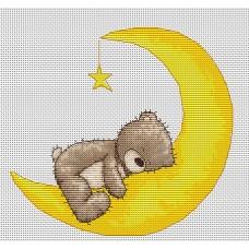 Набор для вышивания Luca-S B1096 Медвежонок Бруно