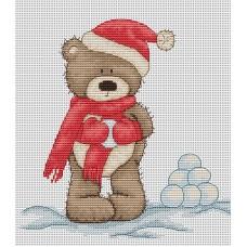 Набор для вышивания Luca-S B1098 Медвежонок Бруно