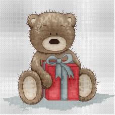 Набор для вышивания Luca-S B1099 Медвежонок Бруно
