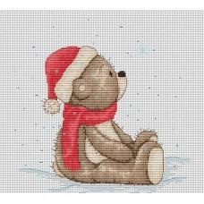 Набор для вышивания Luca-S B1100 Медвежонок Бруно