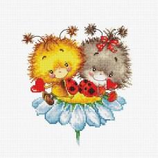 Набор для вышивания Luca-S B1141 Божьи коровки