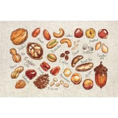 Набор для вышивки крестом Luca-S B1165 Орехи и семена