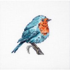 Набор для вышивки крестом Luca-S B1167 Синяя птица