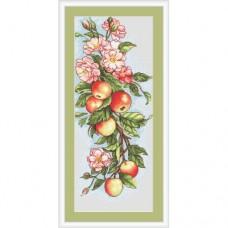 """Набор для вышивания Luca-S B211 """"Композиция с яблоками"""""""