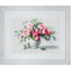 Набор для вышивки Luca-S B2280 Этюд с чайными розами
