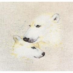 "Набор для вышивки Luca-S B2307 ""Медведи"""