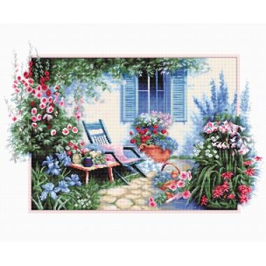 Набор для вышивки крестом Luca-S B2342 Цветочный сад