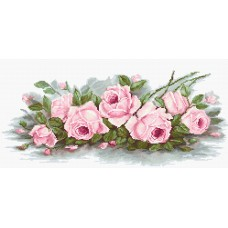 Набор для вышивки крестом Luca-S B2353 Романтические розы