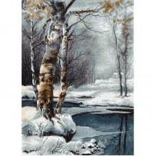 Набор для вышивания Luca-S B560 Зима