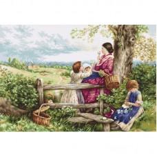 Набор для вышивки Luca-S B562 Весенние цветы