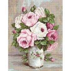 Набор для вышивания Luca-S B574 Смешанные розы