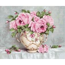 Набор для вышивания Luca-S BA2319 Розовые розы