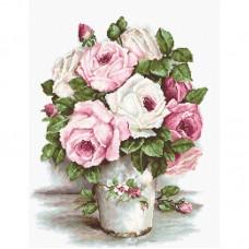 Набор для вышивания Luca-S BA2329 Смешанные розы