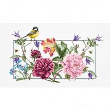 Набор для вышивки Luca-S BA2359 Весенние цветы