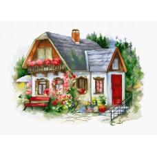 Набор для вышивки крестом Luca-S BU4005 Красивый загородный домик
