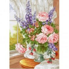 Набор для вышивки Luca-S BU4016 Цветы у окна