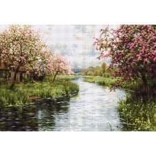 """Набор для вышивания гобелен Luca-S G545 """"Весенний пейзаж"""""""