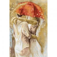 Набор для вышивки Luca-S G552 Под зонтом