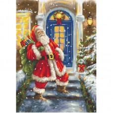 Набор для вышивки Luca-S G563 Дед Мороз