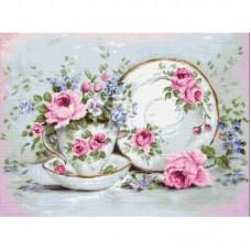 Набор для вышивки Luca-S G566 Трио и цветы