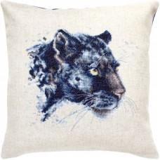 Набор для вышивания подушка Luca-S PB184 Пантера